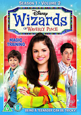 WIZARDS OF WAVERLY PLACE  SERIES 1 VOL 2 DVD Selena Gomez UK Rele New Sealed R2