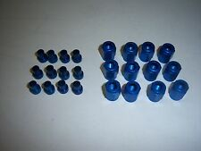 3/16  BLUE ALUMINUM NUT AND SLEEVE FOR 3/16 NITROUS OR BRAKE HARD LINE AN3