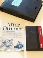 After Burner Sega Master System SMS Video Game, Tested