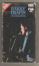 "HARRY CHAPIN - ""The Final Concert"" terrific. 1981- Harry's best concert!"