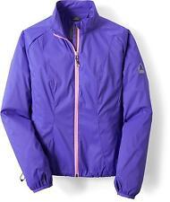 NWT Sierra Designs Cloud Windshell Packable Hiking Running Jacket, Full Zip, M