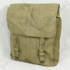 WW2 British Army 1937 37 Pattern CANVAS LARGE PACK Backpack - Issued Surplus Bag
