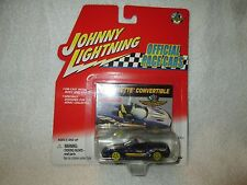 98 CORVETTE CONVERTIBLE OFFICIAL PACE CARS JOHNNY LIGHTNING 1/64 JL