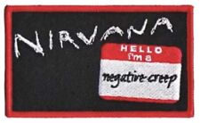 Nirvana Embroidered Patch N026P Foo Fighters Melvins Pearl Jam Soundgarden