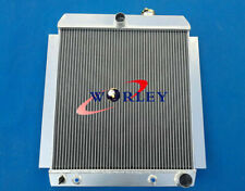 For 1948-1954 Chevy Pickup Truck 1949 1950 1951 1952 1953 1954 aluminum radiator