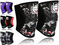 Knee Sleeves Crossfit weight lifting Powerlifting Patella support brace 5mm PAIR