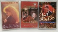 Lot of 14 Chistmas Cassette Tapes New and used