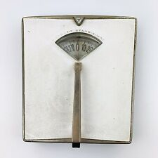 Vintage DETECTO Bathroom Scale Mid Century Modern Art Deco With Handle Works