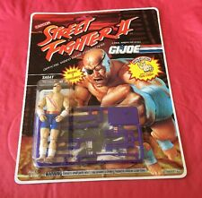 Rare GI Joe Street Fighter 2 Sagat Thai Fighter MOSC