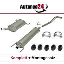 Auspuffanlage Opel Corsa C 1.2 & 1.2, 1.4 Twinport, ab. Bj. 2000- Auspuff