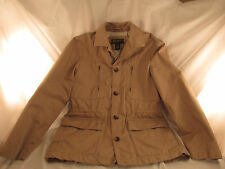 Eddie Bauer Jacket, Size Small, Color Tan, 8 pocket, Great Condition