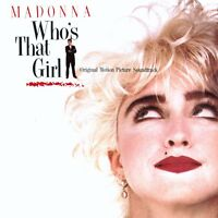 Who's That Girl (Madonna) - Original Motion Picture Soundtrack - Vinyl LP *NEW*