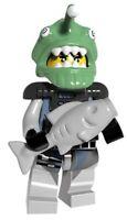 Shark Army Angler Ninja Ninjago Golden Dragon Movie Toy Custom Lego Mini Figure