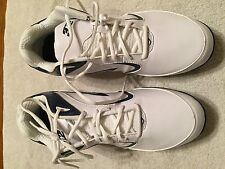 new with box men's 3N2 pulse metal white/navy blue baseball cleats size 13