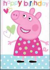 Peppa Pig Birthday Happy Birthday card