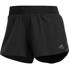 Women's Adidas Climalite Slim Fit Black SATURDAY Shorts Size L 3""