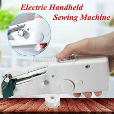 Mini Hand Held Sewing Machine Portable Smart Electric Stitch Cordless Fabric