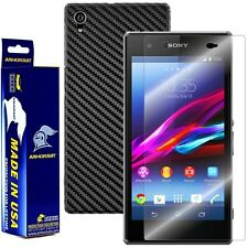 ArmorSuit MilitaryShield Sony Xperia Z1S Screen Protector + Black Carbon Fiber