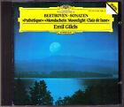 Emil GILELS: BEETHOVEN Pathetique Moonlight Piano Sonata No.8 13 14 CD DG 1981