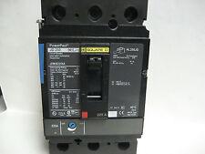 * New Square D 225 Amp 3 Pole Circuit Breaker Type Jd 250 Jdm36225Sa Ll-15M