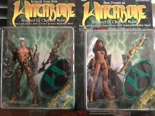 WITCHBLADE Sara Pezzini and Kenneth Irons Golden Action Figures 1998 NEW