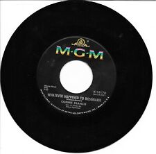 """Connie Francis: """"Whatever Happened To Rosemarie"""" / """"Your Other Love"""" - '63 - Ex+"""