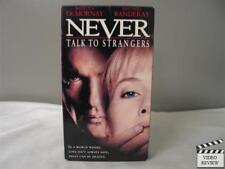Never Talk To Strangers VHS Rebecca DeMornay, Antonio Banderas; Peter Hall