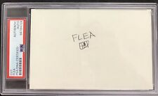 Flea Signed Cut Signature PSA/DNA Red Hot Chili Peppers Rock & Roll Bass Guitar