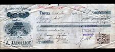 """TROYES (10) USINE de VOITURES Anglaises de POUPEES """"A. JACOLLIOT"""" 1909"""