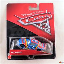 Disney Pixar Cars 3 - Rex Revler Gask-its #80 racer - Mattel diecast car