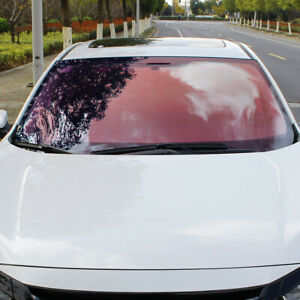 VLT 80% Chameleon Window Tint Window Film Car Front Windshield UV Proof Decor
