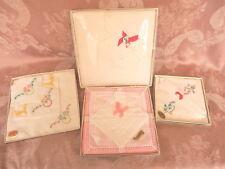 4  BOXED  SETS  IRISH LINEN and COTTON    HANKIES/Handkerchiefs  11  VINTAGE