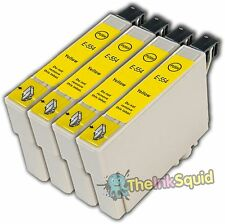 4 jaune T0554 non-oem cartouche d'encre pour epson stylus photo RX420 RX425 RX520