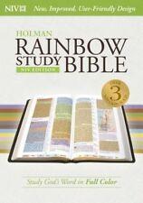 Rainbow Study Bible-NIV by Holman Bibles (Hardback, 2015)