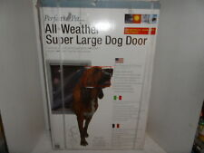 "Perfect Pet All Weather Super Large Dog  Door Model AWSL 15""  x 23-1/2"""