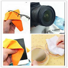 New 100pcs Phone Screen Cleaning Soft Cloth Camera Lens Glasses Cleaner Square