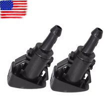 2x Windshield Washer Nozzle For Dodge RAM CHRYSLER 300 PT CRUISER TOWN & COUNTRY