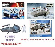 Star Wars B3673 - First Order Snowspeeder - Snowtrooper Officer - Disney Hasbro