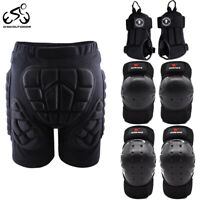 Skiing Hip Protection EVA Armored Shorts Elbow Knee Pads Wrist Support Skate Ski