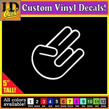 JDM The Shocker Car Vinyl Decal Window Sticker Import Hand Logo Symbol Decal