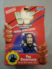 NEW- WWF RING MASTERS THE UNDERTAKER NEW CARDED PLAYMATES 30015 WRESTLER 1997