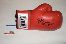 BOXING HOF BOB ARUM SIGNED AUTOGRAPHED LACED BOXING GLOVE PSA/DNA AC79320 proof