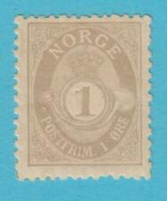 NORWAY 47a MINT HINGED OG* NO FAULTS EXTRA FINE !