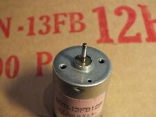 DC 12V Permanent Magnet Motor MXN-13FB12F, F-26mm, L-35MM
