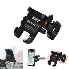 Motorcycle Handlebar Phone Holder Stand QC3.0 USB Charger For 4-6'' Mobile Phone