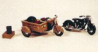 JL Innovative 905 HO 1947 Motorcycles 1 w/Sidecar Box Metal Kit