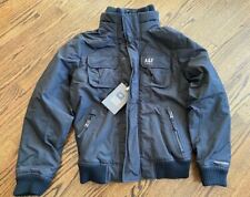NWT ABERCROMBIE & FITCH Men's ALL SEASON WEATHER WARRIOR BOMBER JACKET  ~ Sz  L