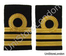 Epaulette Merchant Navy Chief officer Chief Mate Slip-on Curl 2 Bar  R1436