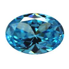 Sea Blue Sapphire 1.95cts 6x8mm Oval Faceted Cut Shape AAAAA VVS Loose Gemstone