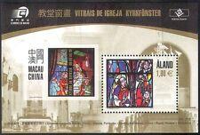 Aland 2010 vetrata Windows/Chiesa/arte/Artisti/Design/IMBARCAZIONI 1 V M/S (n41617)